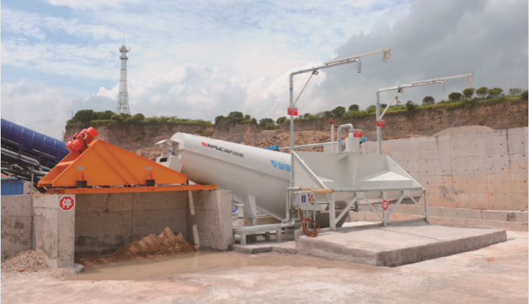 Wet Concrete Recycling Solution