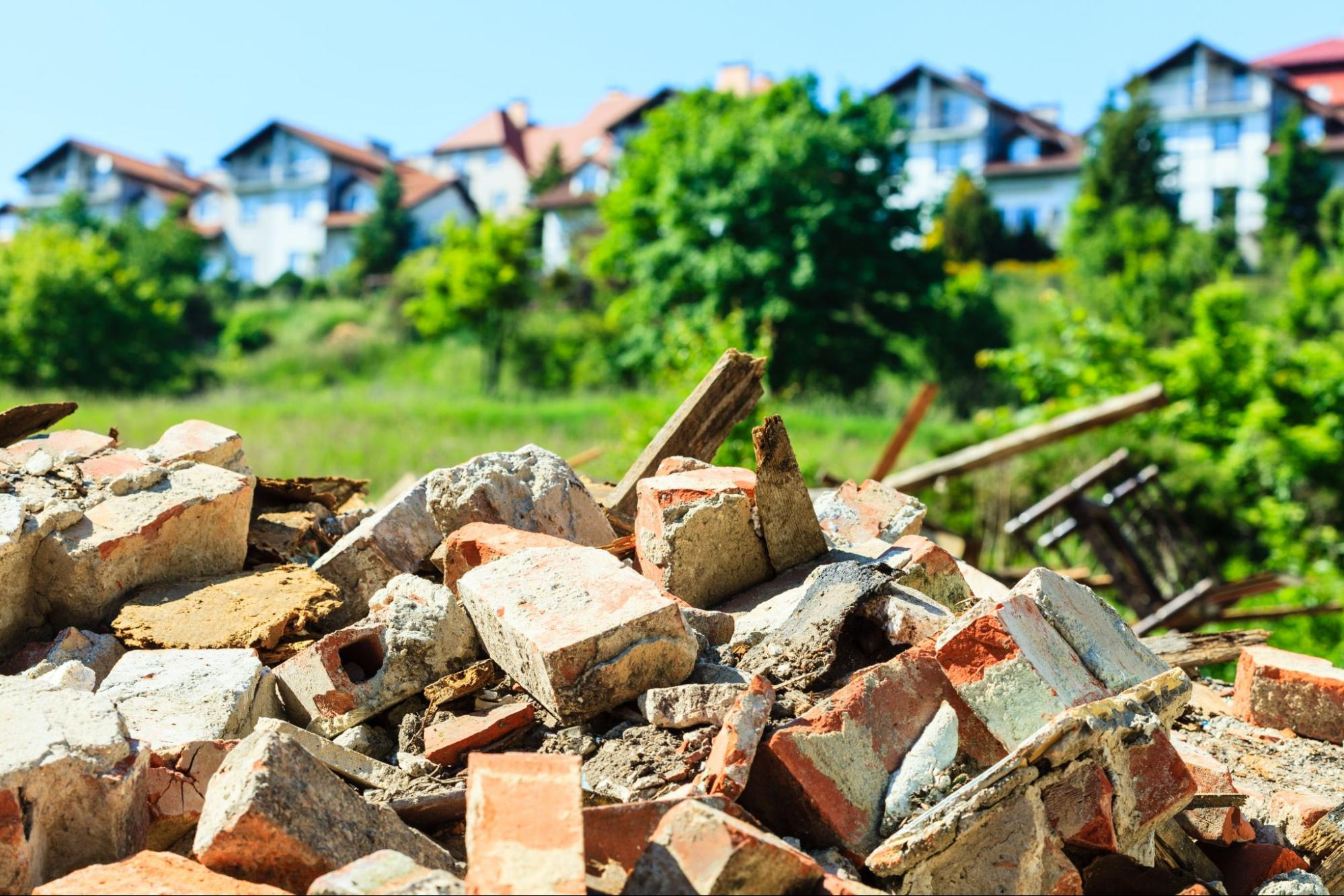 Solutions for Demolition Waste Disposal